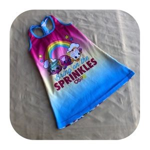 Shopkins PJs girls XS 4/5
